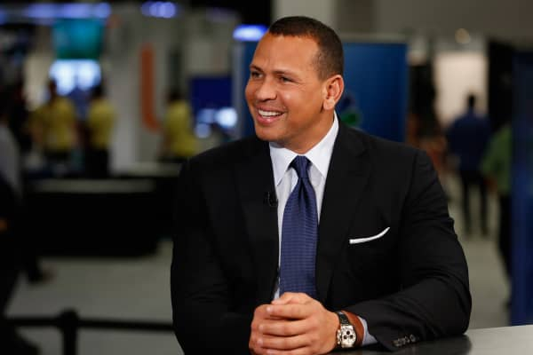 Alex Rodriguez at eMerge Americas conference in Miami on June 13, 2017.