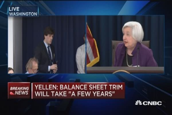 Yellen: I intend to serve out term as Fed chair