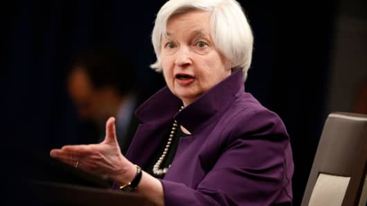 Former Federal Reserve Board Chairwoman Janet Yellen