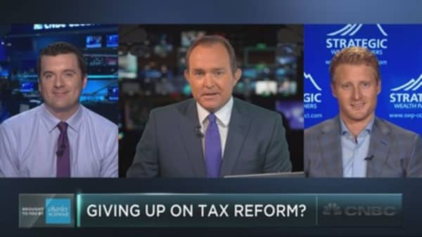 Have investors given up on tax reform?