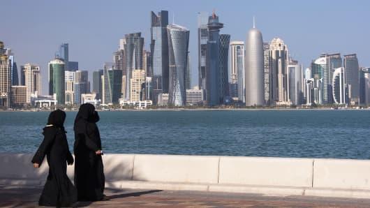 A file photo of Doha, Qatar.