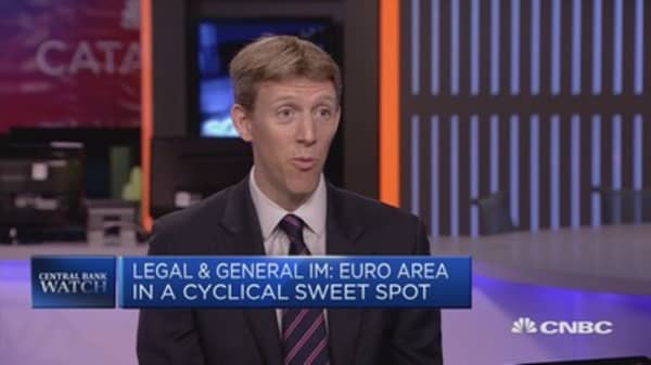 Euro rally can continue: Legal & General