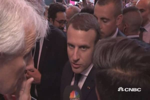 Want France to be the nation for innovation and startups: Macron