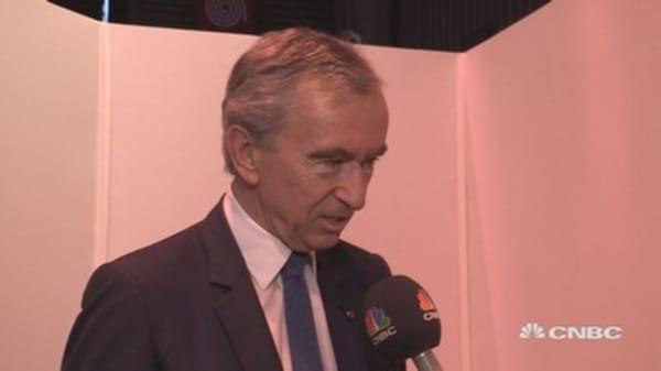 Long-term optimistic on economic climate, mid-term seems 'scary' says LVMH CEO