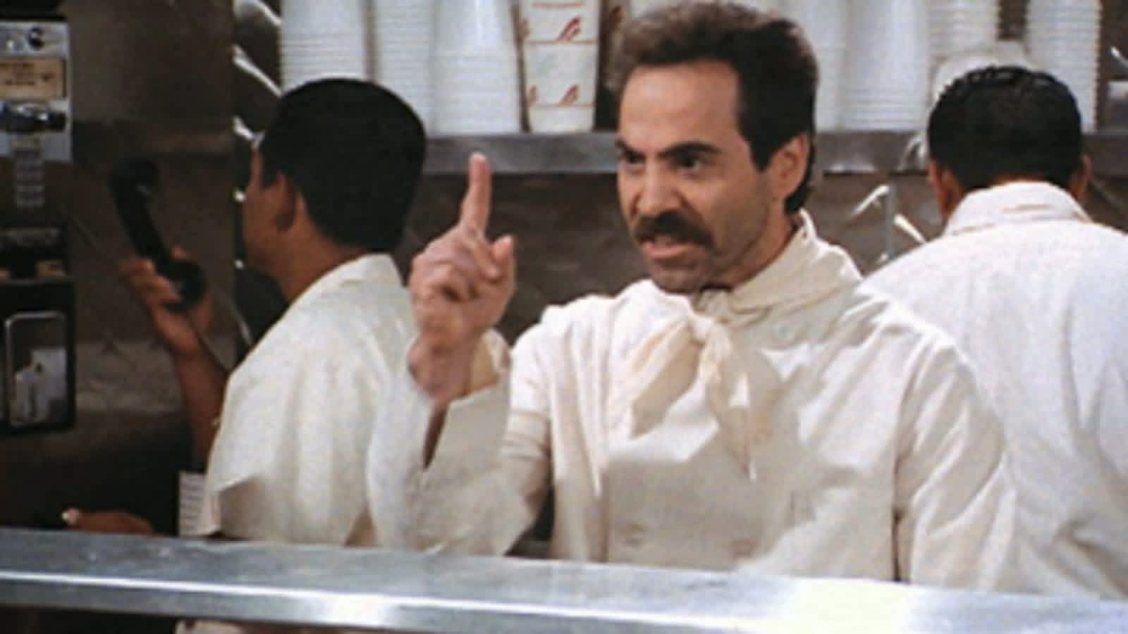 Image result for soup nazi