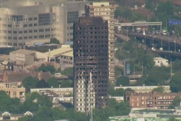 London tower block fire toll rises to 17, more feared dead