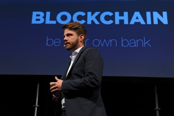 Peter Smith, chief executive officer of Blockchain Ltd.