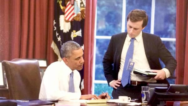How Obama's 24 year old speechwriter developed the confidence to write for the President of the United States