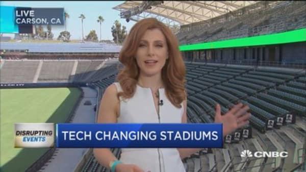 Tech takes the field
