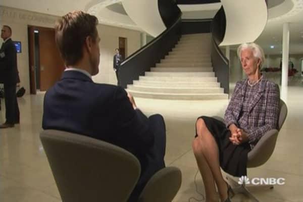 More predictable, certain Brexit better for UK: Lagarde