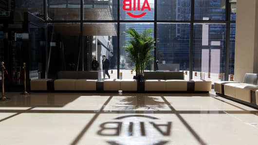 An initiative of China, AIIB is an inter-governmental regional development institution in Asia based in Beijing.