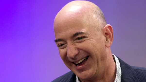 Amazon President, Chairman and CEO Jeff Bezos.