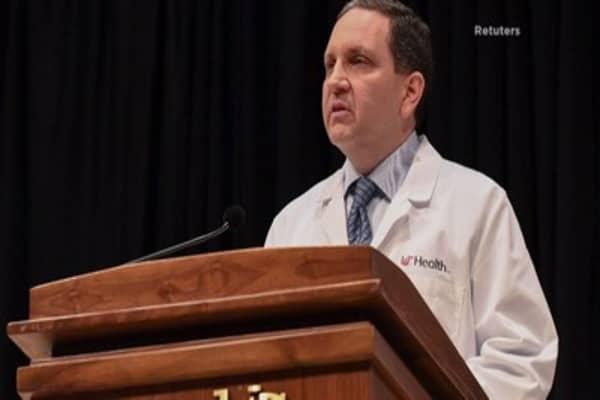 US doctors say freed North Korean captive has 'extensive loss of brain tissue'