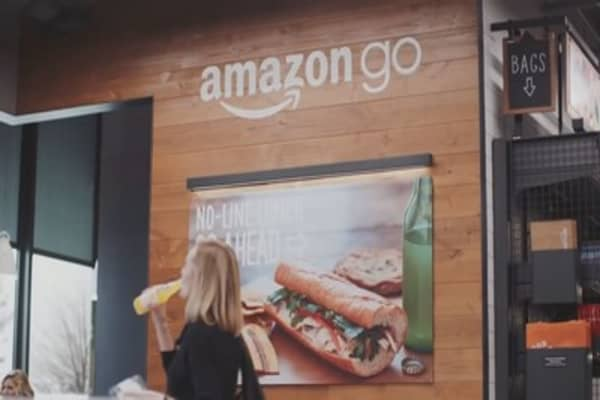 With Amazon buying Whole Foods, this could be the future of grocery shopping