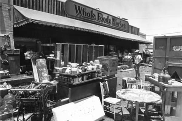 The Whole Foods flood of 1981