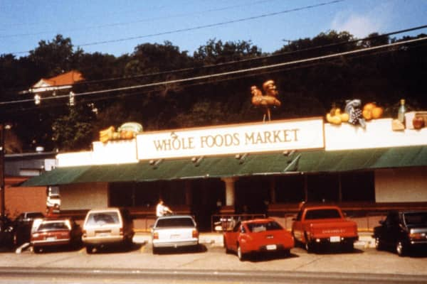 The first Whole Foods Market store
