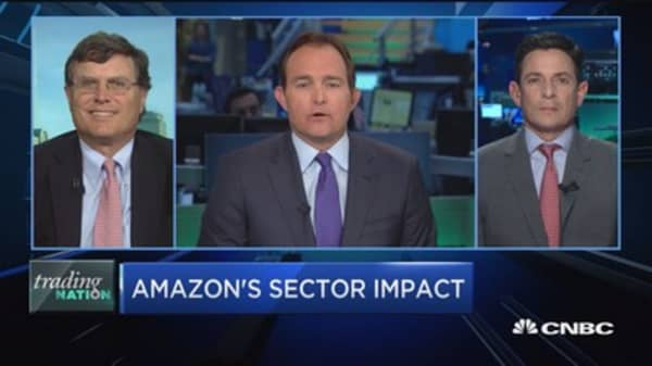 Trading Nation: Amazon's sector impact