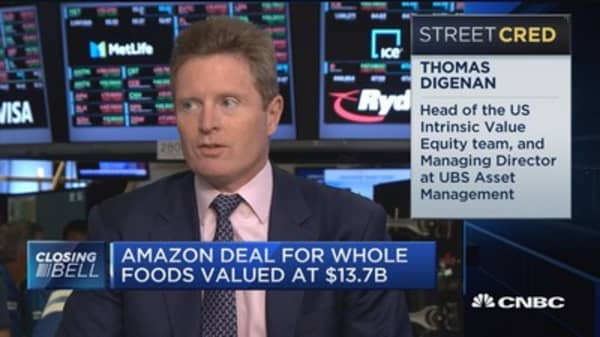 Amazon/Whole Foods could rank as #5 grocery retailer in 2017: Cowen&Co.