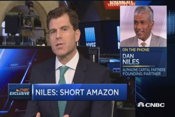 Short Amazon, Long Wal-Mart: Niles