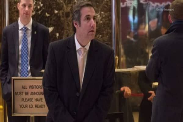 Trump's lawyer has hired his own lawyer