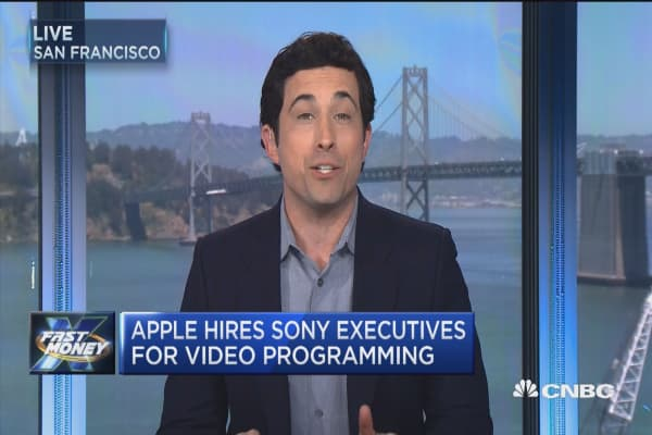 Apple bets on TV