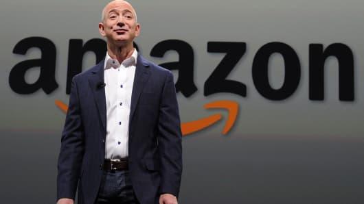 Jeff Bezos CEO of Amazon.