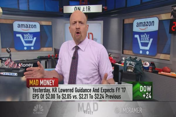Cramer cherry-picks the winners and losers of the Amazon-Whole Foods deal
