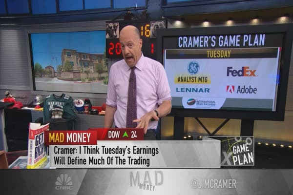 Cramer's game plan: This set of earnings reports could sway the market