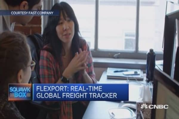 Tracking freight in real-time
