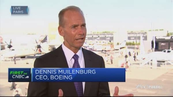 Boeing CEO: Continuing to see strong demand