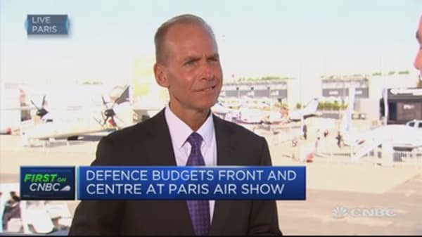 Laptop ban has been a challenging situation: Boeing CEO