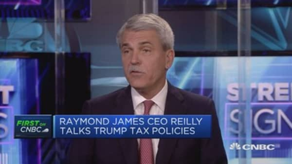 Everyone agrees Trump needs to cut corporate tax: Raymond James CEO