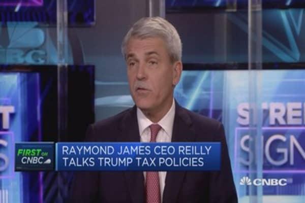 Everyone agrees Trump needs to cut corporate tax: Raymond James CEO