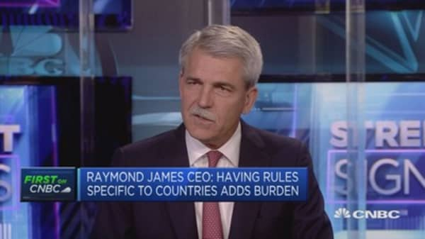 Growth coming from US, UK and Canada: Raymond James CEO