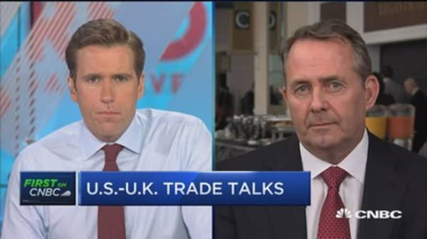 US and UK trade is of  'enormous' mutual importance: Liam Fox