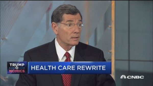 Sen. Barrasso: Confident on health-care vote before July 4th