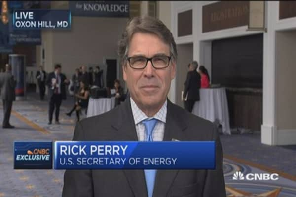 Sec. Perrry: Trump wants US to be 'energy dominant'
