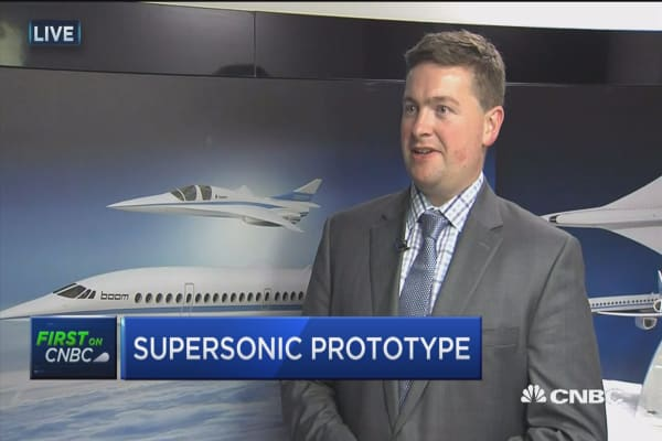 Boom Technology's supersonic flights not science fiction