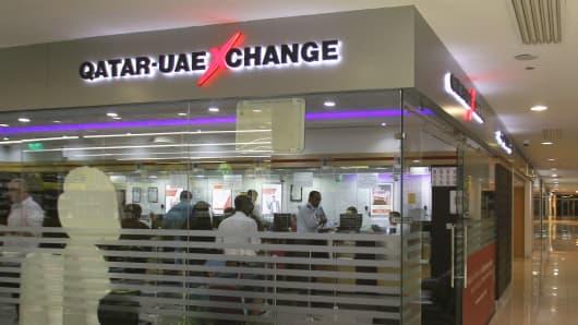 Qatar And Uae Exchange Office In Doha June 13 2017