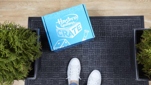 Hasbro launches first-ever gaming subscription service.