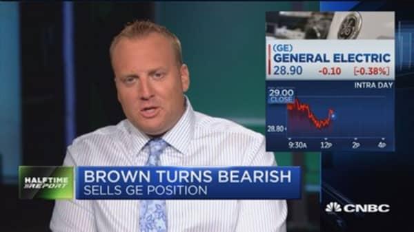 Josh Brown throws in the towel on GE