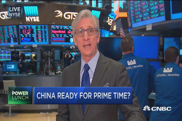 China ready for prime time on MSCI?