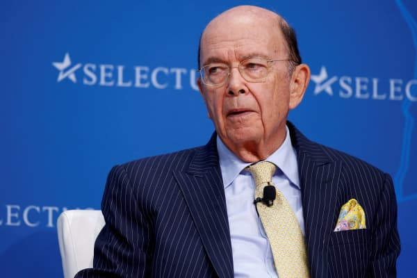Secretary of Commerce Wilbur Ross speaks at 2017 SelectUSA Investment Summit in Oxon Hill, Maryland, U.S., June 19, 2017.