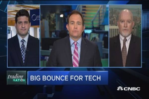 Trading Nation: Big bounce for tech