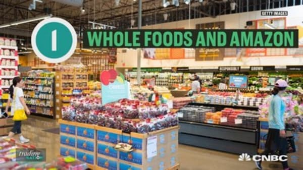 The stocks that could benefit from a Whole Foods bidding war