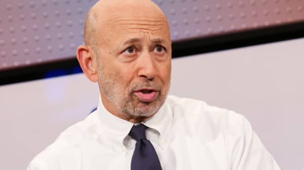 Lloyd Blankfein, CEO and Chairman of Goldman Sachs.