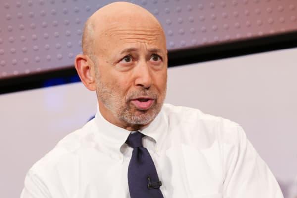 Lloyd Blankfein, CEO and Chairman of Goldman Sachs.