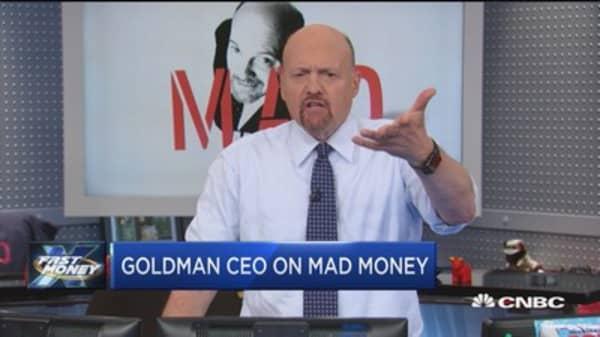 Goldman CEO on Mad Money