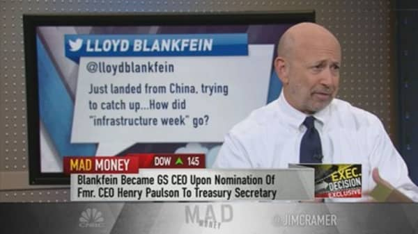 Why Blankfein took to Twitter