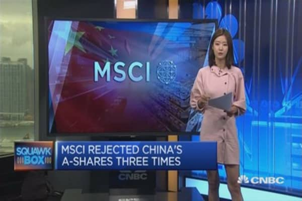 MSCI: Finally a yes for China A-shares?